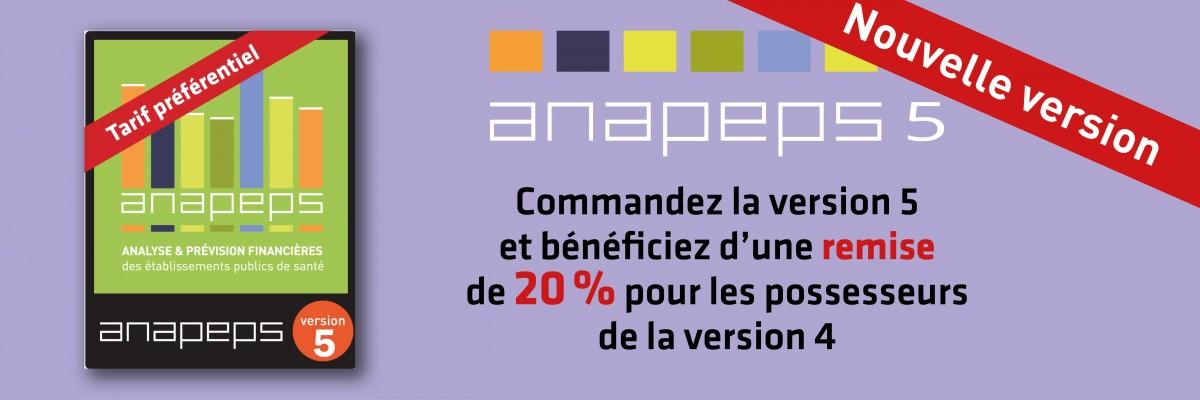 Parution du logiciel ANAPEPS version 5